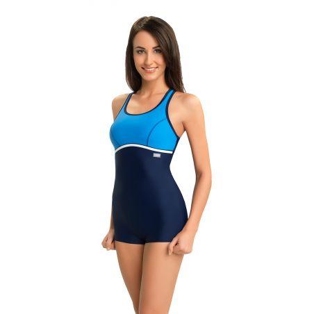 Kostium jednoczęściowy Model Ines Navy/Blue