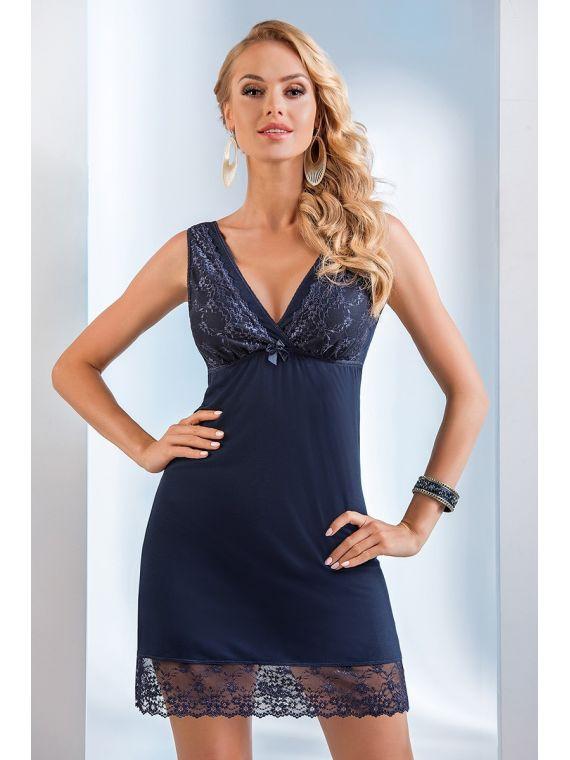 Koszula Nocna Model Lucy NavyDonna