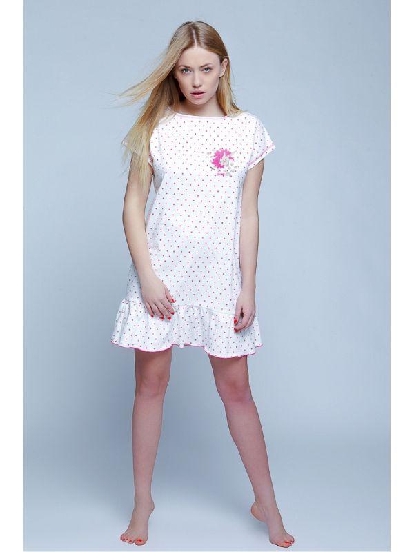 Koszula Nocna Model Unicorn WhiteSensis