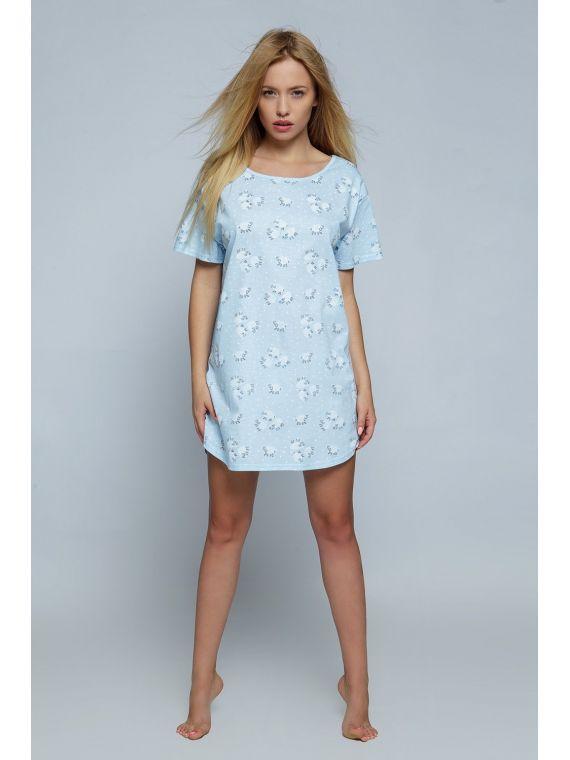 Koszula Nocna Model Blue...