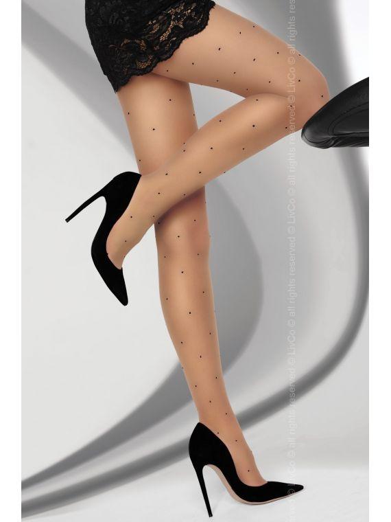 Rajstopy Model Rubinax 8 DEN Beige