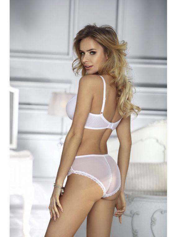 Biustonosz Semi Soft Model Angelika White