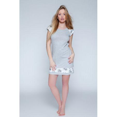 Koszula Nocna Model Romantic GreySensis