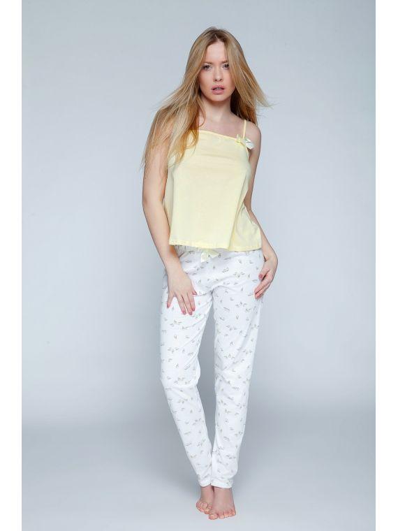 Piżama Damska Model Canary...