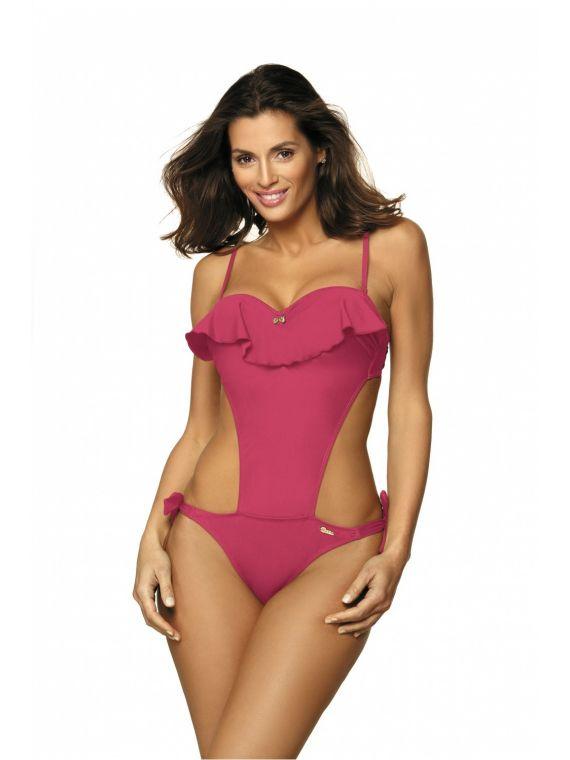 Kostium kąpielowy Model Carmen Rose Pink M-468 Dirty Pink