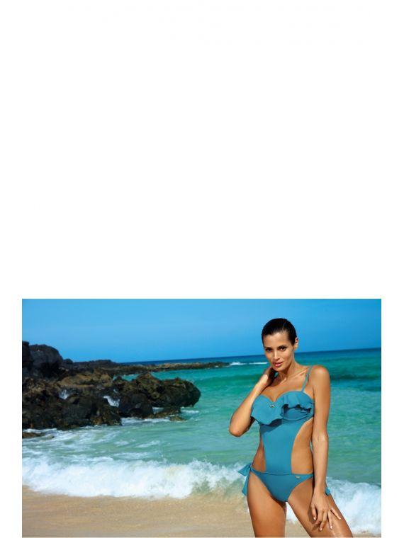 Kostium kąpielowy Model Carmen Curacao M-468 Morski