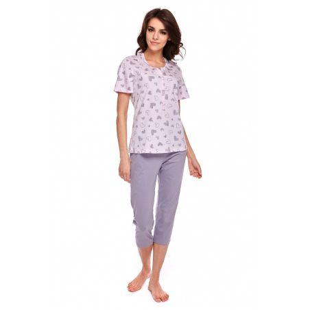 Piżama Damska Model Kylie 320 kr.rękaw Pink