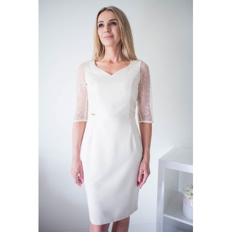 Sukienka Model Rakela Cream