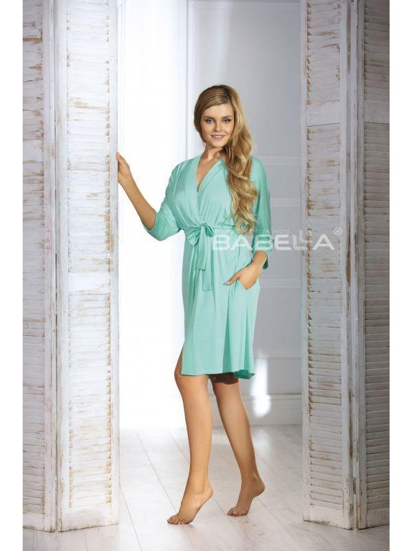 Szlafrok Damski Model Bianca Mint