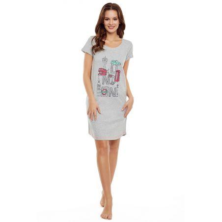 Koszula Nocna Model Dota 35910-90X GreyHenderson