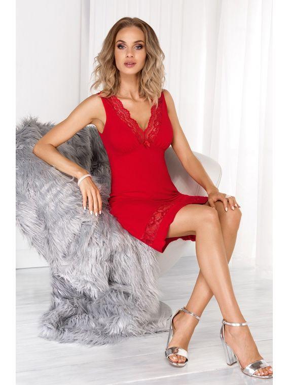 Koszula Nocna Model Stella RedDonna