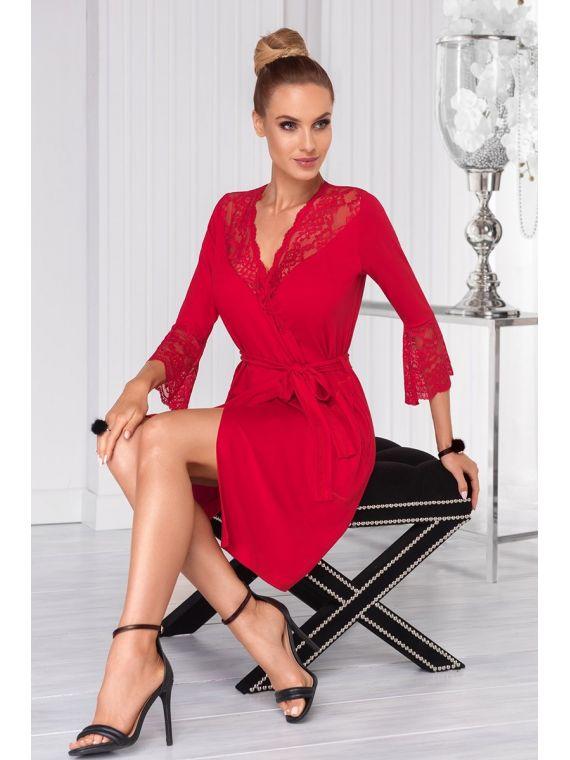 Szlafrok Damski Model Stella Red