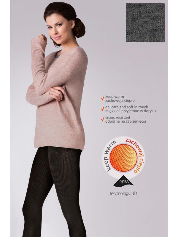 Rajstopy Model Warm up! Fashion 200 Den code 412 Melange