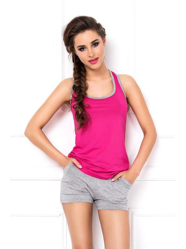 Komplet Model Aklina Pink/Grey