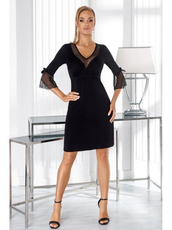 Koszula Nocna Model Greta BlackDonna