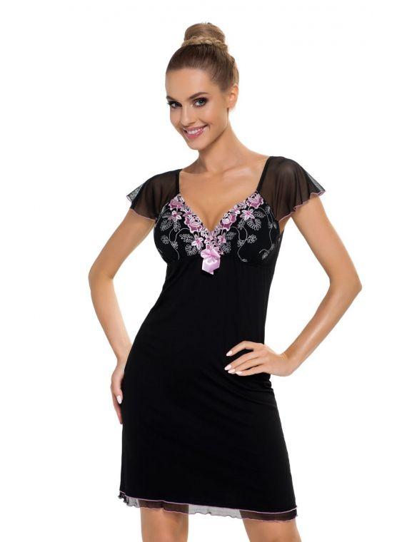 Koszula Nocna Model Regina BlackDonna