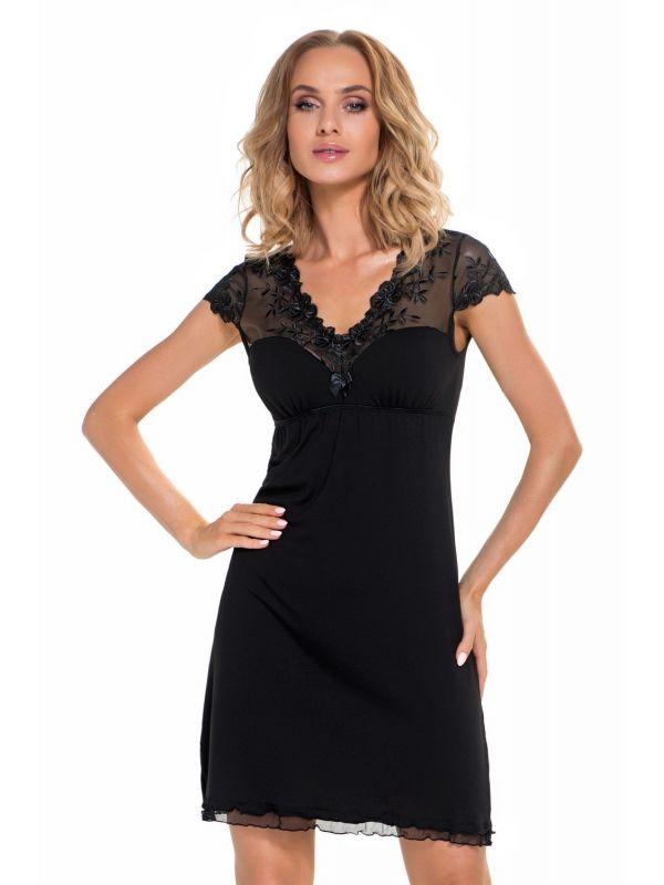 Koszula Nocna Model Karo BlackDonna