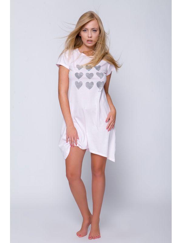 Koszula Nocna Model Valery PinkSensis