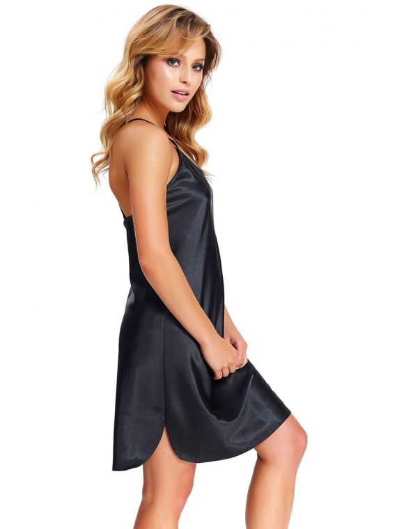 Koszula Nocna Model TM.9526 BlackDn-nightwear