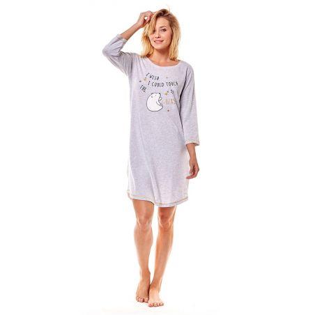 Koszula Nocna Model Mimi 36161-09X GreyHenderson