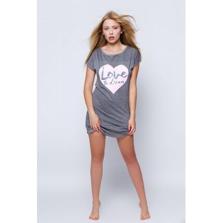 Koszula Nocna Model Britney GreySensis