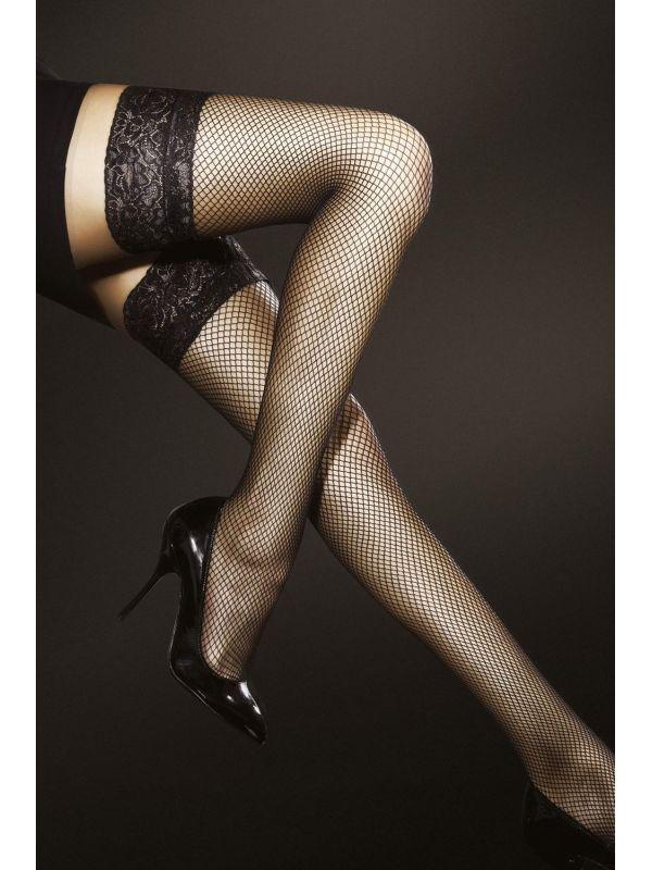 Pończochy kabaretka Model Liza Black
