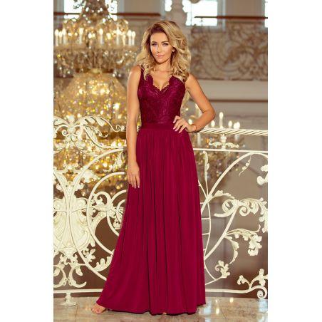 Sukienka Model Lea 211-2 Bordo