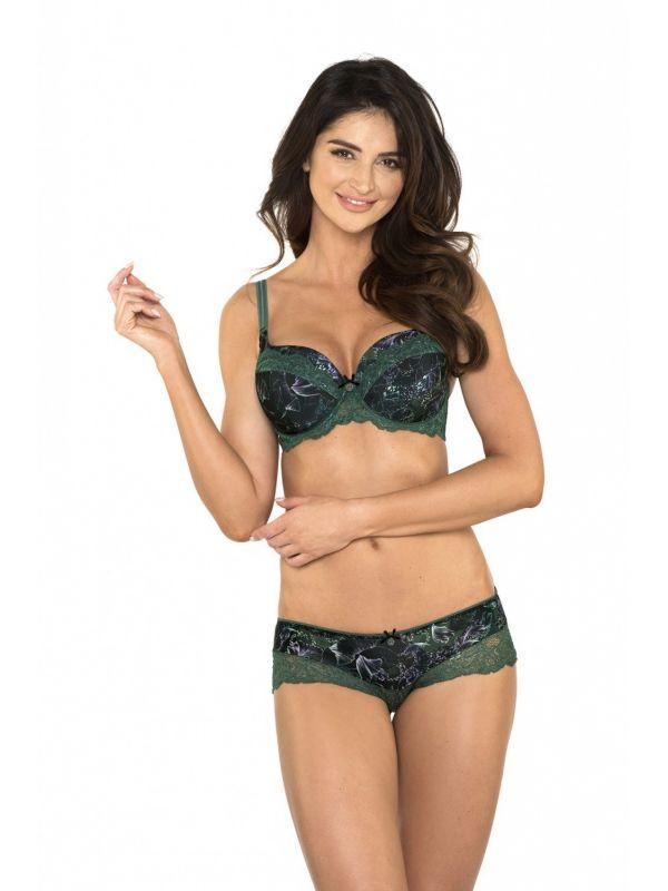 Biustonosz Usztywniany Model Rachel B4 Green
