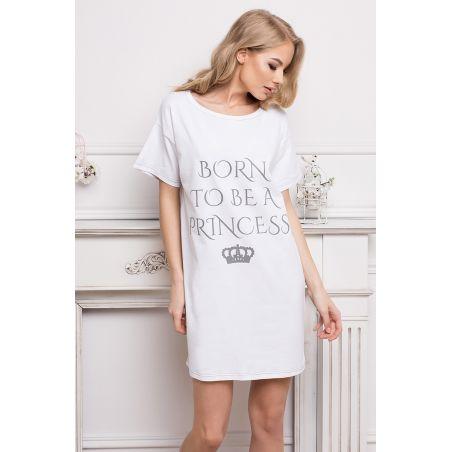 Koszula Nocna Model Princess WhiteAruelle