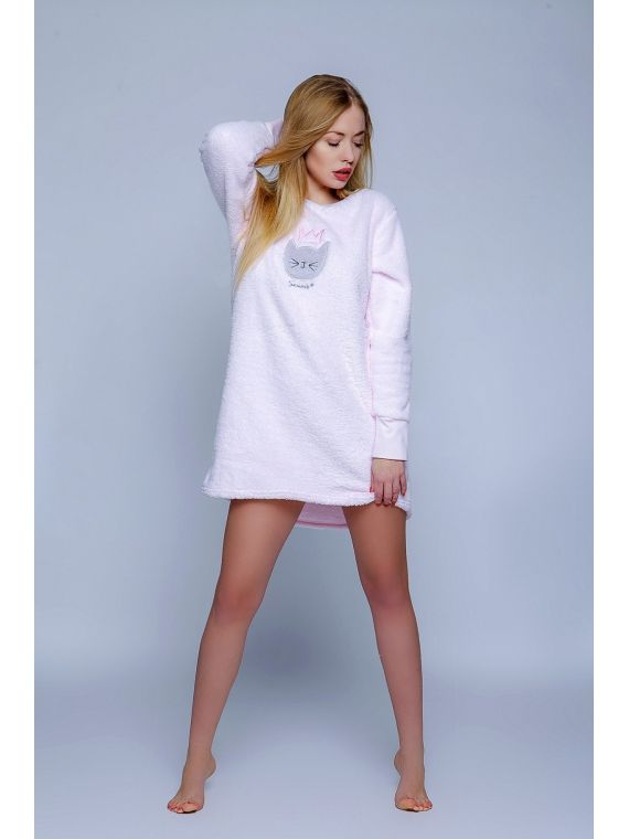 Koszula Nocna Model Soft Cat PinkSensis