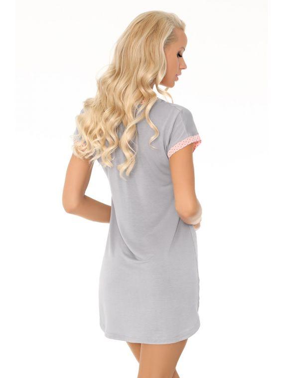 Koszula Nocna Model Amarantta GreyLivia Corsetti Fashion