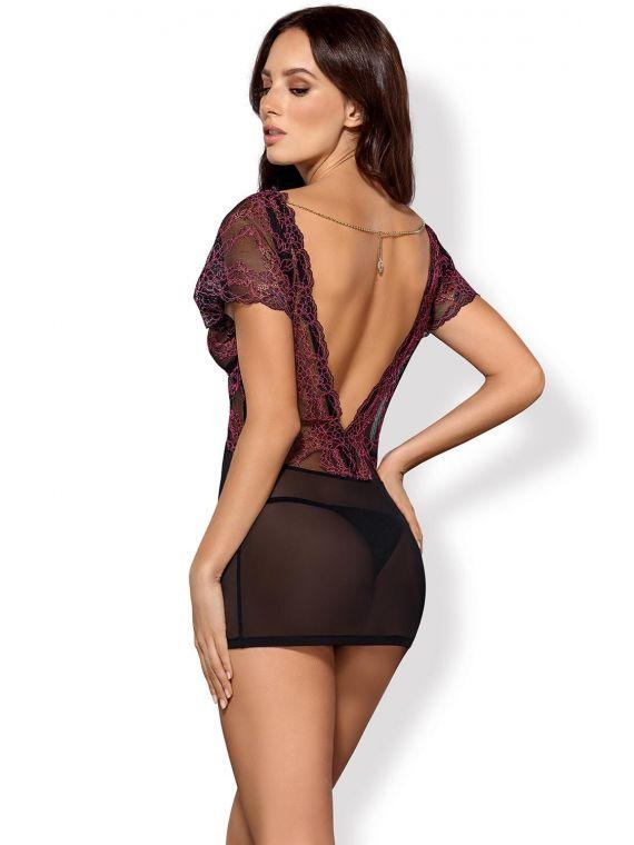 Komplet Model Sedusia chemise Black