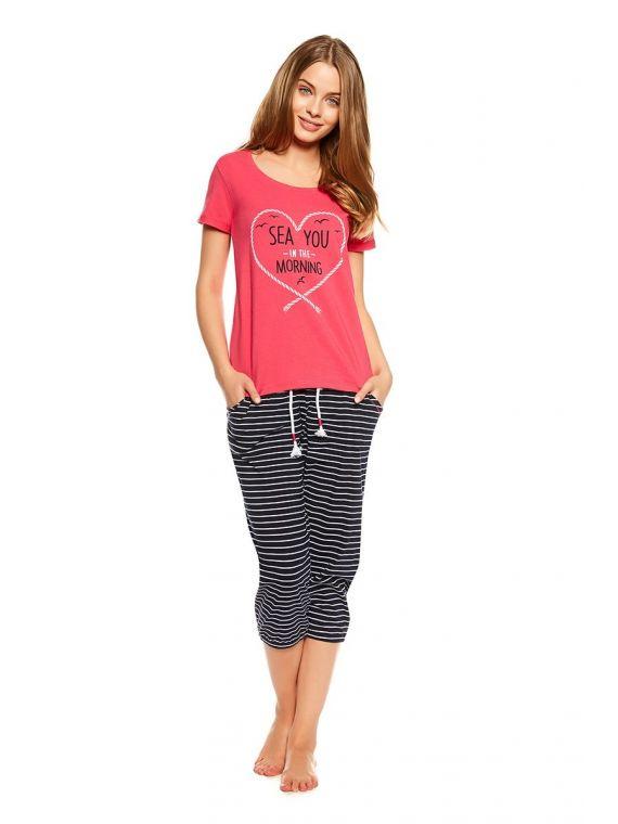 Piżama Damska Model Tayla 36809-30X Pink