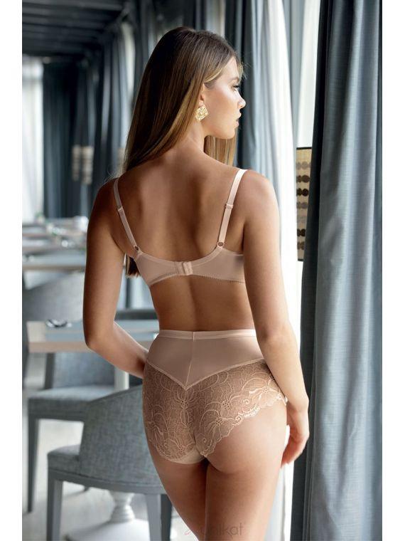 Biustonosz Usztywniany Model Olimpia Morela