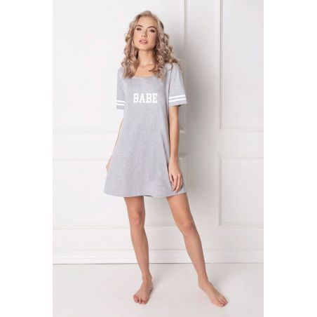 Koszula Nocna Model Babe GreyAruelle