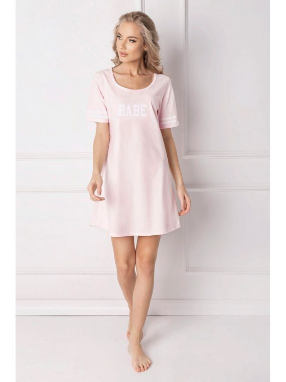 Koszula Nocna Model Babe PinkAruelle