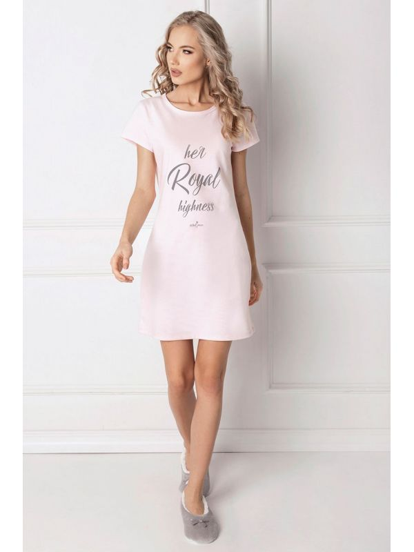 Koszula Nocna Model Highness PinkAruelle