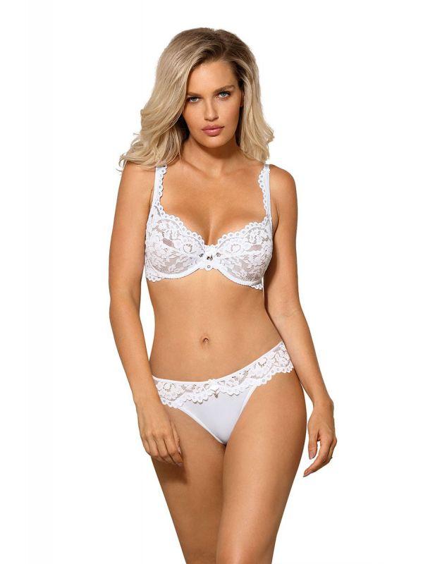 Biustonosz Soft Model Newia White
