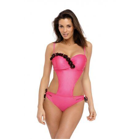 Kostium kąpielowy Model Evelyn Popstar M-530 Perła Amarant