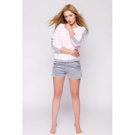 Komplet Model Linea Pink/Grey
