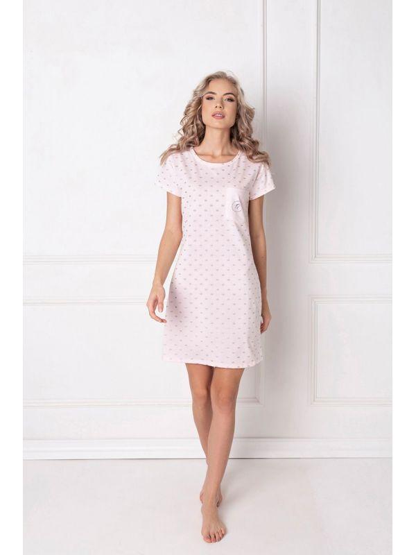 Koszula Nocna Model Q PinkAruelle