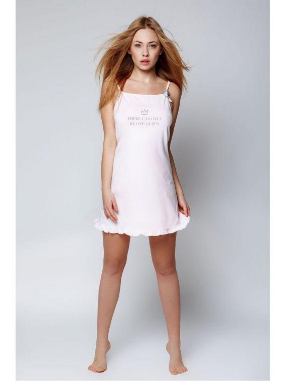 Koszula Nocna Model Danielle PinkSensis
