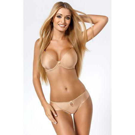 Biustonosz Push-up Model Alissa Beige