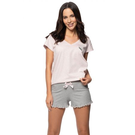 Piżama Damska Model SAL-PY-1139 II Pink Melange