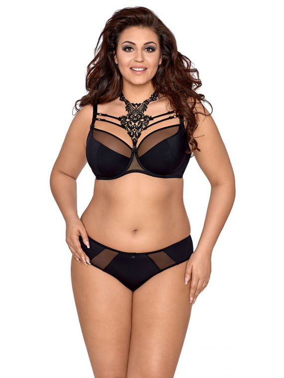 Biustonosz Semi-Soft Model V-8421 Miami Vibe Black