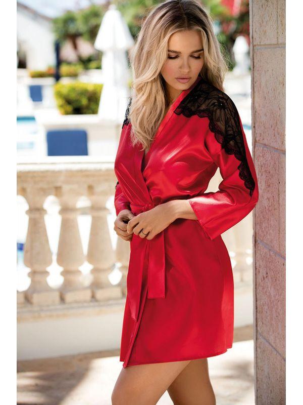 Szlafrok Damski Model Marion Red