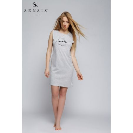 Koszula Nocna Model Never Grey MelangeSensis