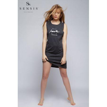 Koszula Nocna Model Never GrafitSensis