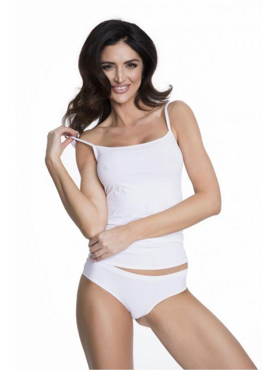 Koszulka Model Soft  Smooth WhiteJulimex Lingerie