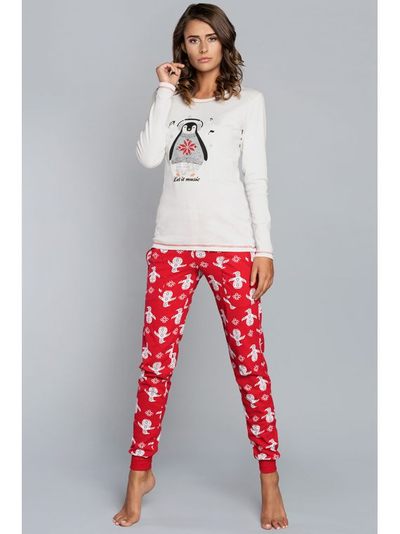 Piżama Damska Model Malika...